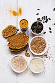 Gluten-free amaranth bread (vegan)