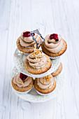 Nutty chestnut cupcakes (vegan)