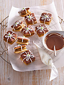 Gifts with apricot filling