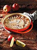 Styrian apple cake made in a Beefer