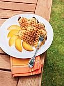 Grummbierwaffele (potato waffles) from the Hunsrück region, Rhineland Palatinate, Germany