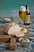 Vegan beer bread