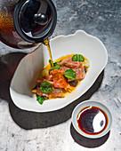 Shabu shabu with Kobe beef