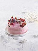 Cranberrykuchen mit Rosmarin zu Weihnachten