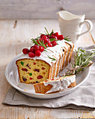 Christmas sweet loaf