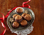 Christmas coconut cookies