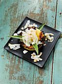 Karamelisierte Ananas aus dem Beefer