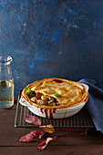 Beef stew pie