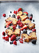 French toast made in a Beefer with fruit