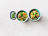 Bunte Gemüsesuppe mit Buchweizen