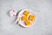 Polenta slices