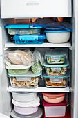 Vorratshaltung 'To Go' im Kühlschrank