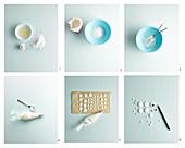 Zuckeraugen herstellen