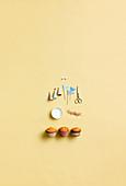 Dekoideen für Muffins - Fähnchen, Zuckeraugen, Partyhüte, Zuckerdeko