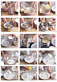 Baiserkuchen zubereiten