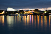 A view of the Bonn opera house, North Rhine Westphalia, Germany