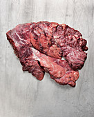Raw beef lung