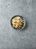 Würziger Garnelen-Nudel-Salat (Thailand)