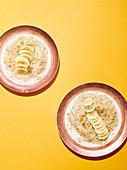 Bananen-Tahini-Porridge