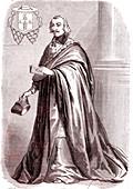 Giulio Raimondo Mazzarino, Italian cardinal and diplomat