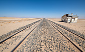 Abandoned railway station, Namibia