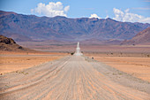 Road through desert, Namibia