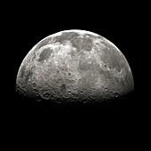 Lunar north pole