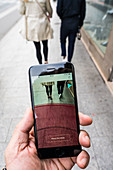 Social distancing app