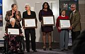 NASA human computers receiving award