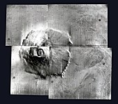 Olympus Mons, Mars, Mariner 9 image