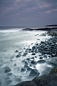 Rocks mystical ocean Cullernose Point Craster