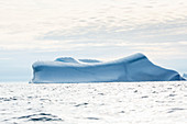 Majestic iceberg formation on Atlantic Ocean Greenland
