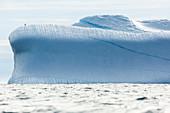 Majestic iceberg on Atlantic Ocean Greenland
