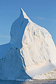 Majestic iceberg over ocean Greenland