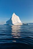 Majestic iceberg formation