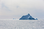 Iceberg over Atlantic Ocean Greenland