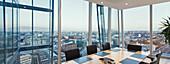 Modern conference room, London, UK