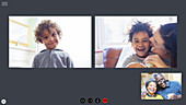 Family video conferencing during quarantine