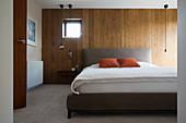 Modern home showcase bedroom