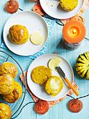 Pumpkin Spice Scones zu Halloween
