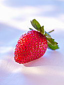 A fresh strawberry