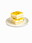 Passionfruit slices