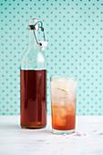 Fruity Hibiscus Tea Soda