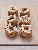 Cronuts with mocha cream