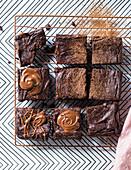 Vegane Avocado-Brownies