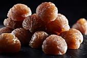 Marron glacé (glazed chestnuts)