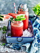 Rejuvenating watermelon refresher