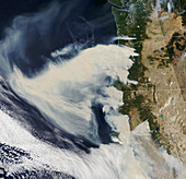 US Pacific Coast wildfires, September 2020