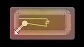 RFID tag, X-ray