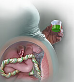 Medication Assisted Withdrawal, Illustration